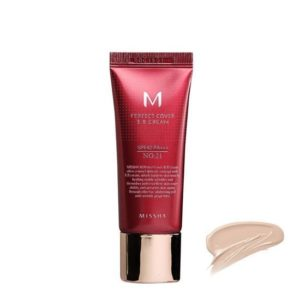 MISSHA ВВ-крем M Perfect Cover BB Cream #21 Light Beige 20мл