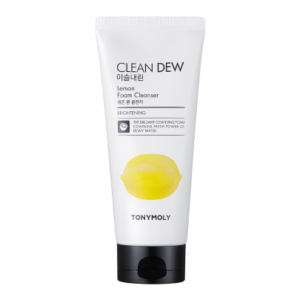 TONY MOLY Пенка для лица с экстрактом лимона Clean Dew Lemon Foam Cleanser
