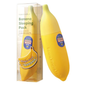 TONY MOLY Маска для лица ночная банановая Magic Food Banana Sleeping Pack