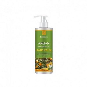 DEOPROCE Маска для волос с аргановым маслом ARGAN SILKY MOISTURE HAIR PACK