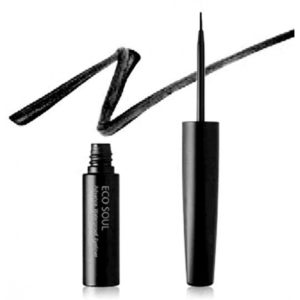 Saem Подводка для глаз Eco Soul Advanced Powerproof Eyeliner 01 Black