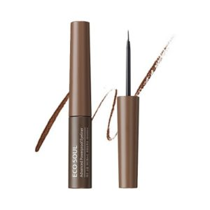 Saem Подводка для глаз Eco Soul Advanced Powerproof Eyeliner 02 Deep Brown