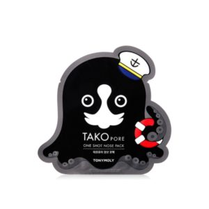 TONY MOLY Патч от чёрных точек Tako Pore One Shot Nose Pack
